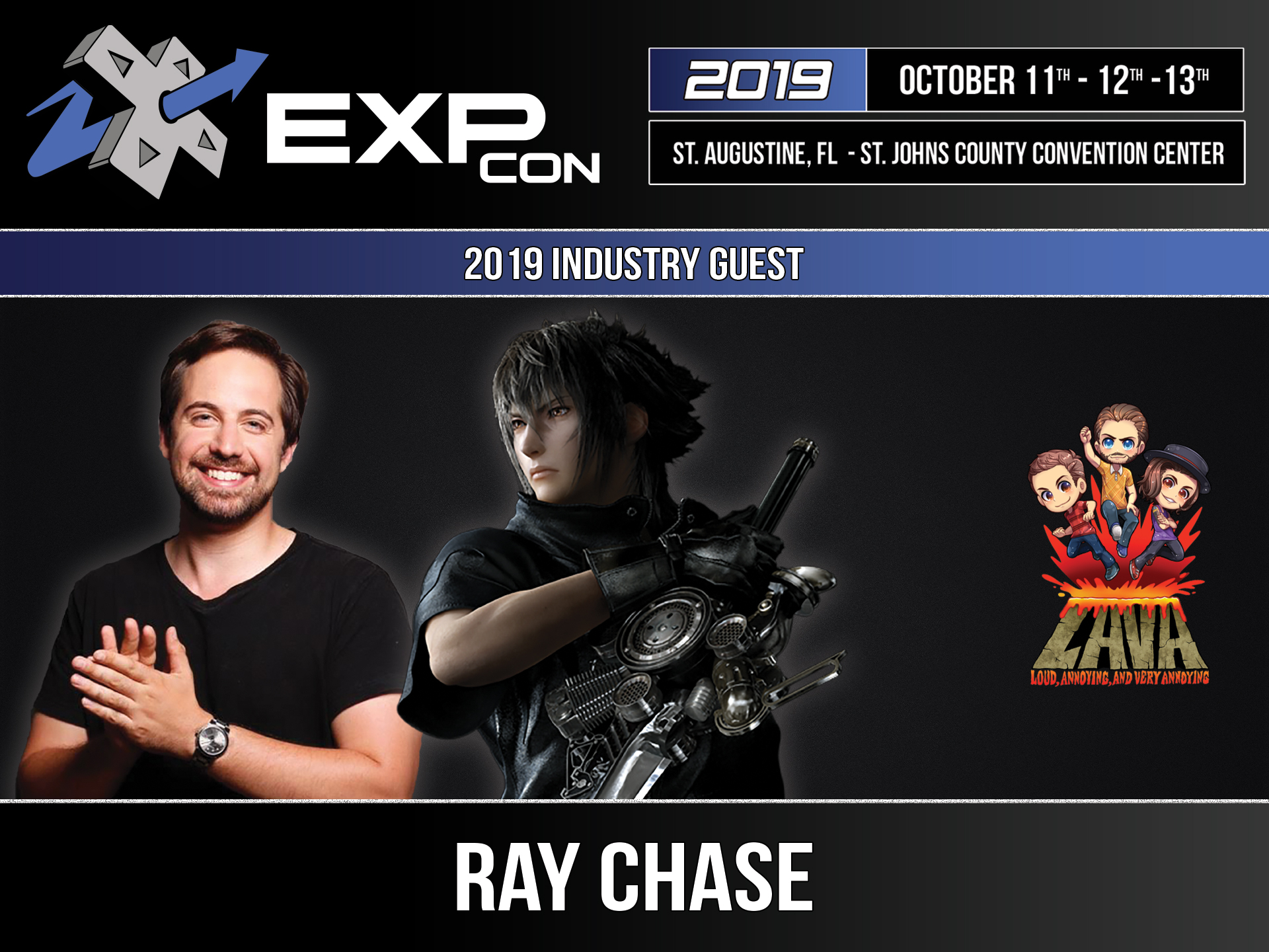 EXP Con 2019 Ray Chase
