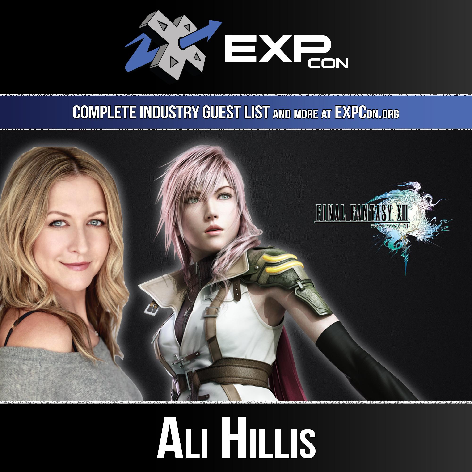 EXP Con 2019 Ali Hillis