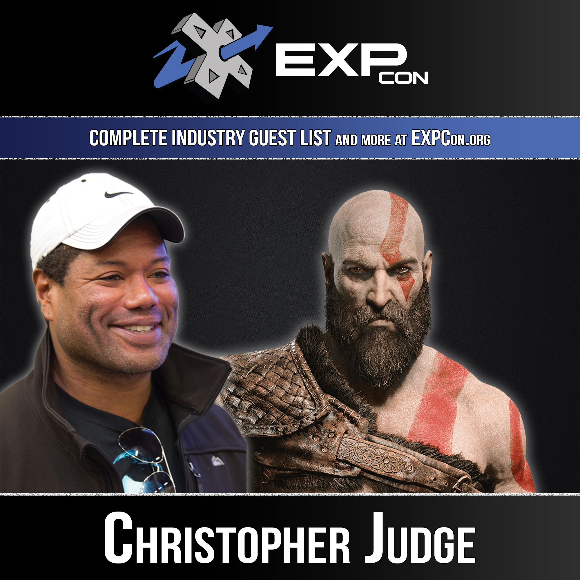 EXPCon 2019 Christopher Judge