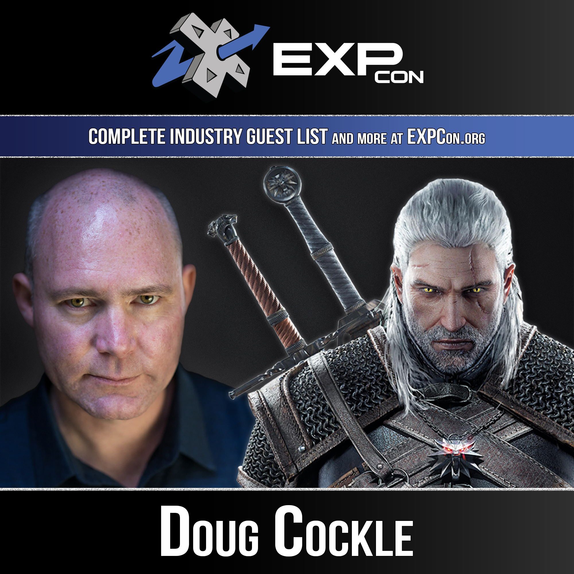 EXP Con 2019 Doug Cockle